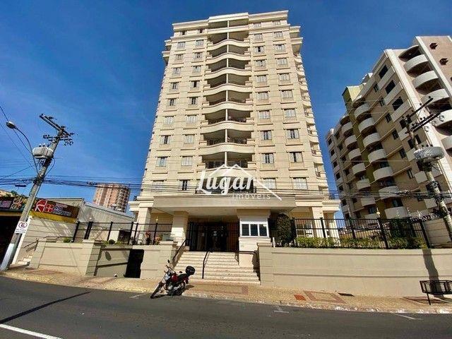 Apartamento com 3 dormitórios para alugar, 90 m² por R$ 1.800,00/mês - Boa Vista - Marília