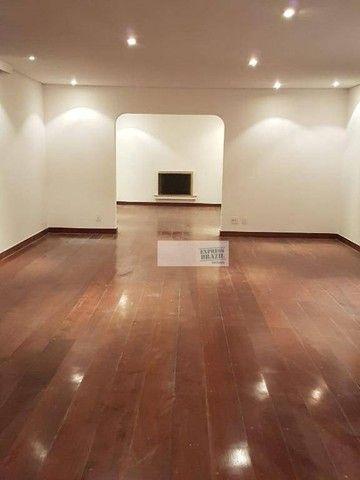 Apartamento com 4 dormitórios para alugar, 335 m² por R$ 14.000,00/mês - Chácara Flora - S - Foto 7