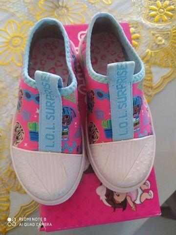 Sapato da lol número 26/27 bem conservado  - Foto 3