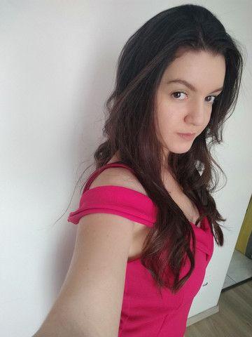 Vestido de festa rosa pink 150,00 em 3x no cartão. - Foto 3