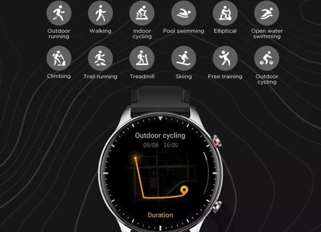 Smartwatch Amazfit GTR 2 (GRÁTIS FONE DE OUVIDO BLUETOOTH) - Foto 4