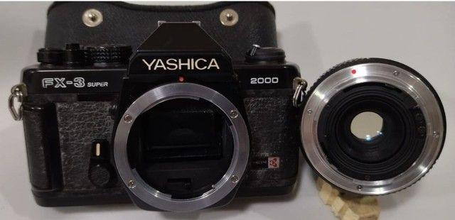 Máquina Fotográfica Yashica Fx-3 Super 2000 - Foto 6