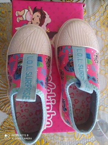 Sapato da lol número 26/27 bem conservado  - Foto 2