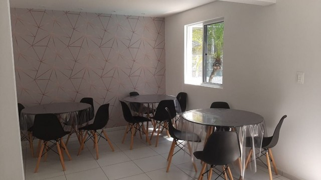 Apartamento de 01 quarto no bancários, com piscina churrasqueira e salão de festas - Foto 13