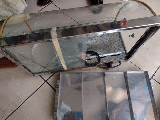 Estufa de vidro com 8 bandejas  - Foto 3