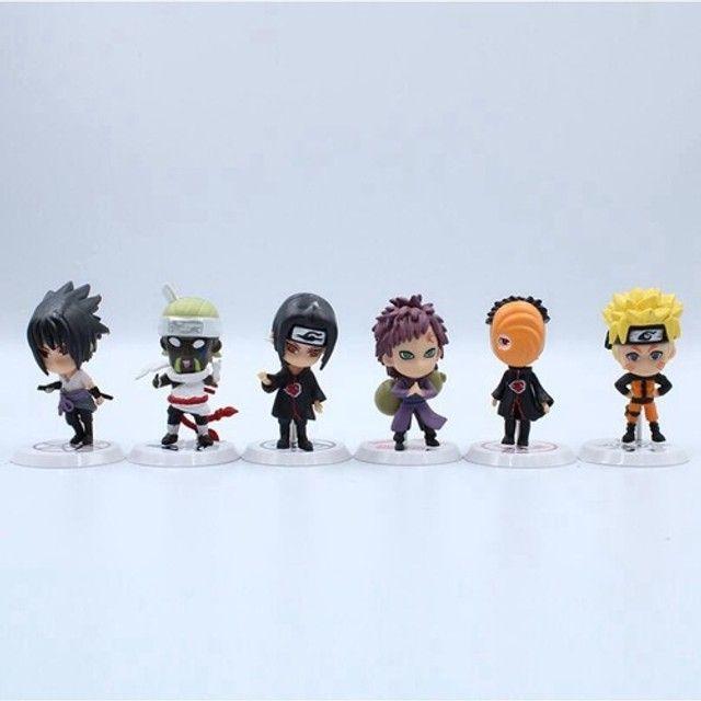 Personagens em KIT Anime Naruto Vilões - Foto 4