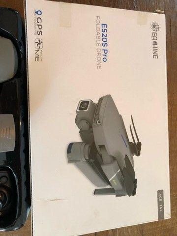 Drone E520s PRO 2 baterias R$690,00 - Foto 5