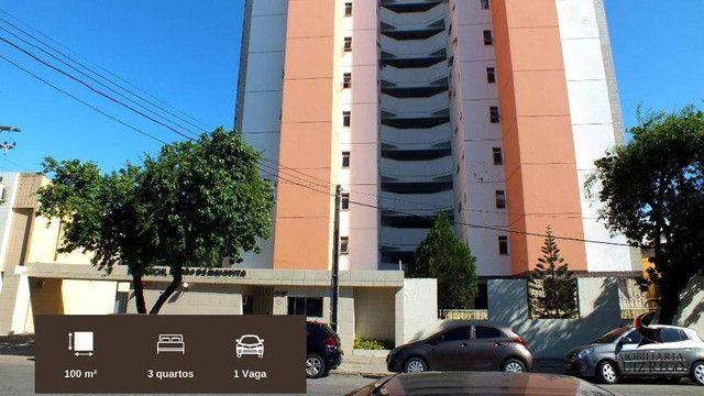 AP526 - Apartamento com 3 dormitórios para alugar, 100 m² por R$ 1.000/mês - Benfica - For