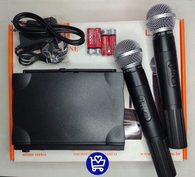 *Microfone profissional dinâmico LE-906*???   - Foto 2