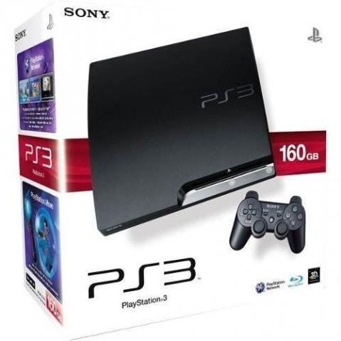 Playstation 3 Slim com garantia de 01 ano. Aceitamos video games como parte do pagamento - Foto 3