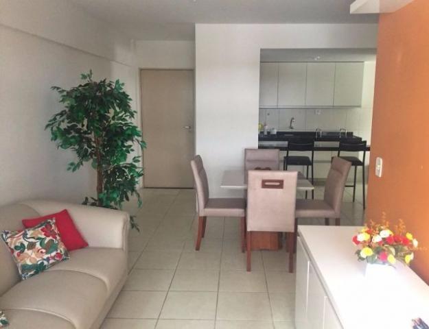 Aluga-se 2 quartos mobiliado Ponta Verde, prédio com piscina - Maceió - Alagoas