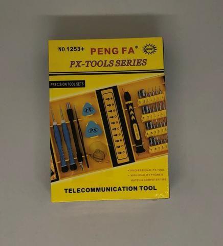 Kit Chaves de Precisão 38 Chaves PX Tools 1253+ Reparo Celular Tablet Notebook Novo