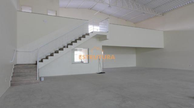 Barracão para alugar, 520 m² por R$ 12.000,00/mês - Vila Alemã - Rio Claro/SP - Foto 2