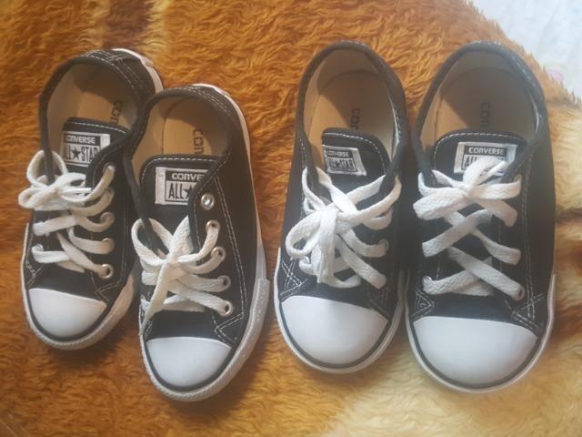 ff75dabccb9 2 pares de tênis All Star Converse - Roupas e calçados - Cajuru ...