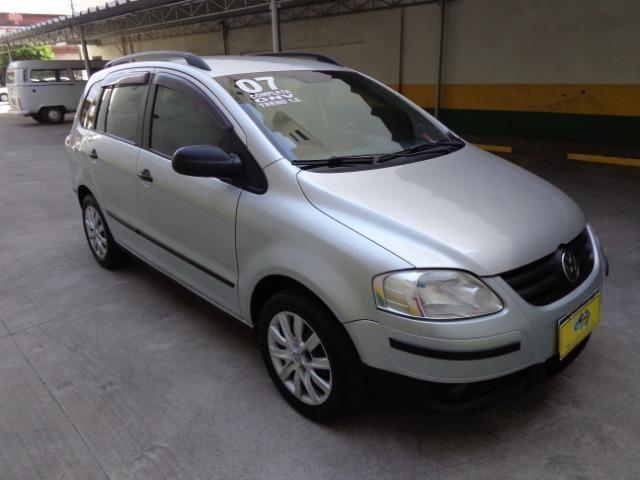 Vw - Volkswagen Spacefox 1.6 Trend Completa + GNV !! Carro Muito Novo !!