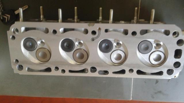 Cabeçote motor GM 1.0 corsa celta vhc retificado pronto pra montar - Foto 2