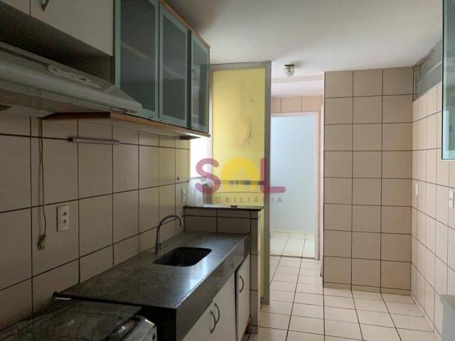 Apartamento com 3 dormitórios próximo ao riverside, 97 m² por r$ 420.000 - jóquei - teresi - Foto 4