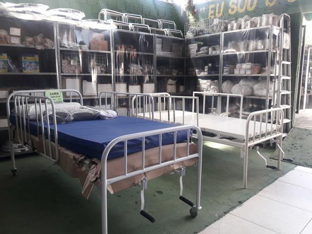 Cama hospitalar nova e usada