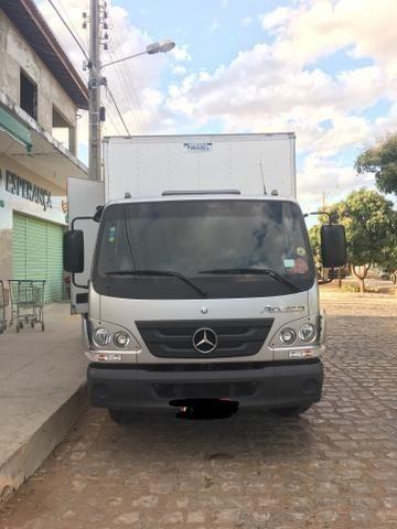 Caminhão Baú Accelo 815 Mercedes Benz - Foto 4