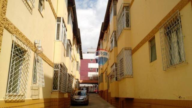 Apartamento com 3 dormitórios para alugar, 68 m² por r$ 1.500,00/mês - coração eucarístico - Foto 2