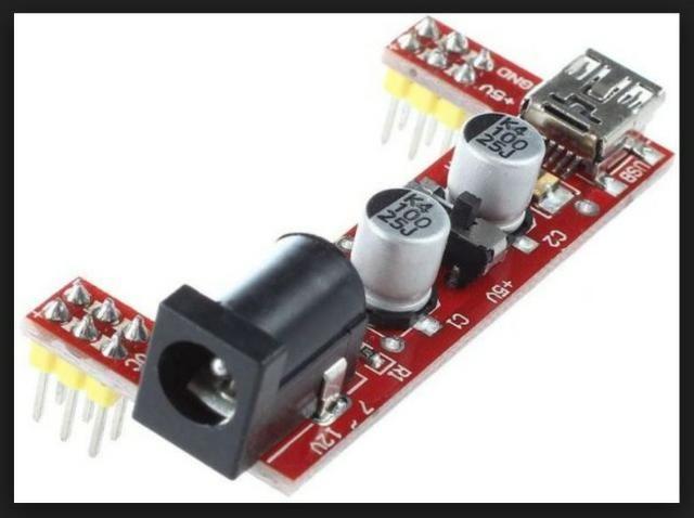 COD-AM236Módulo Fonte Alimentação Protoboard Mb-102 3,3v 5v Arduino Automação Robotica - Foto 2