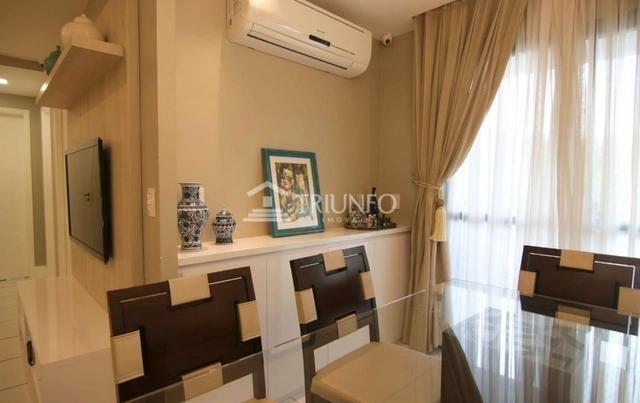 GM - Apartamento todo Projetado/ 3 quartos / varanda - Foto 3