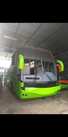 Ônibus Mercedes o400 eletrônico