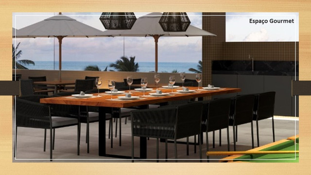 Venha morar na beira mar de praia formosa - 2 e 3 quartos, elevador e lazer na cobertura - Foto 4