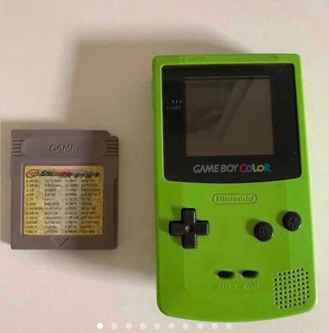 Game boy color kiwi e jogo