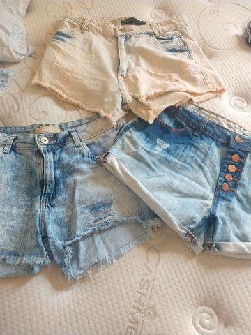 Shortinhos jeans - Foto 3