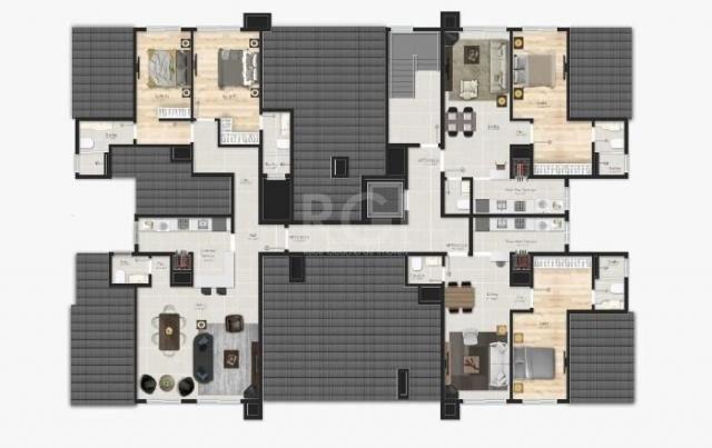 Apartamento à venda com 1 dormitórios em Várzea grande, Gramado cod:EV4091 - Foto 15