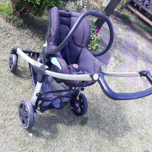 Carrinho de bebê Elea e bebê conforto bébé confort - Foto 2