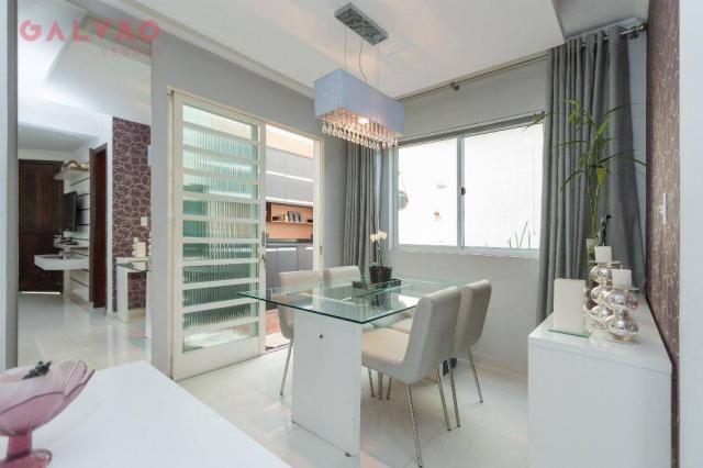 Sobrado com 3 dormitórios à venda, 104 m² por R$ 398.500,00 - Hauer - Curitiba/PR - Foto 6