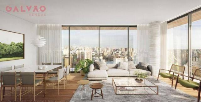 Apartamento com 2 dormitórios à venda, 85 m² por R$ 834.000,00 - Bigorrilho - Curitiba/PR - Foto 13