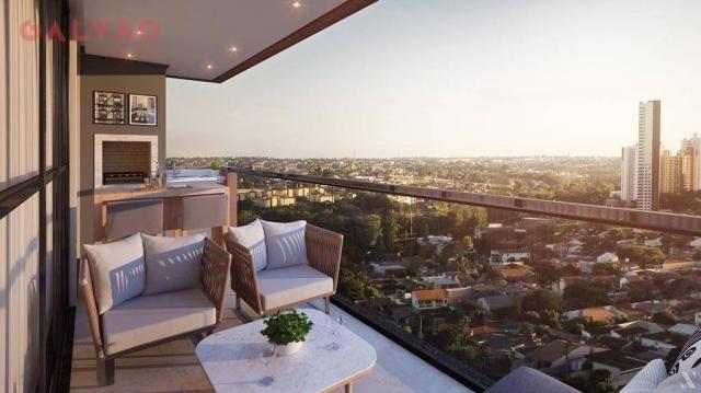 Apartamento com 2 dormitórios à venda, 88 m² por R$ 642.425,79 - Alto da Rua XV - Curitiba - Foto 13