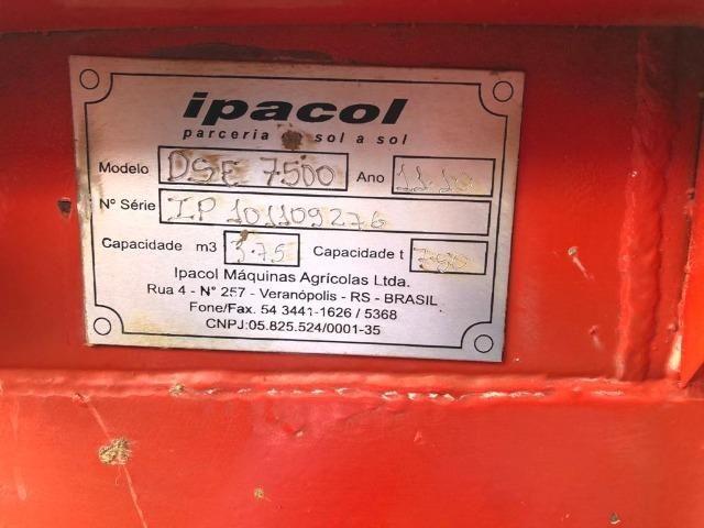 Adubadeira e Calcariadeira Ipacol Semi nova / 7,500 toneladas - Foto 5