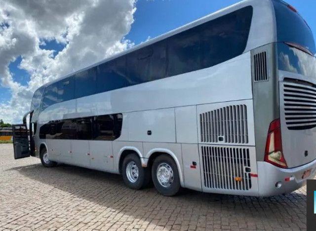 Ônibus Marcopolo DD Scania K 400 6x2 Único - Foto 6