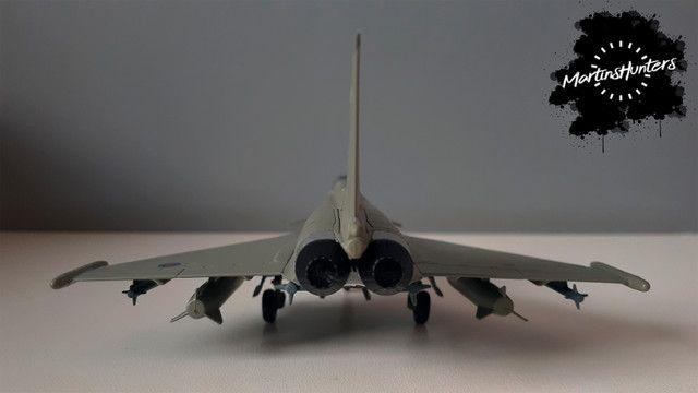 Miniatura Eurofighter EF-2000 - Escala 1:100 - Promoção Imperdível - Foto 6