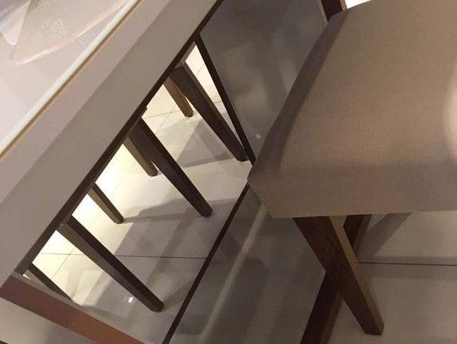 (6951) Mesa 6 Cadeiras Apogeu. Entrega rápida! Whatsapp: 97391=6951 - Foto 3