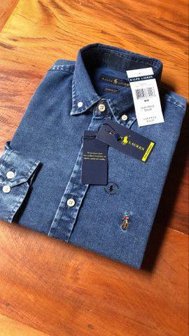 Camisa Jeans RL - Foto 3