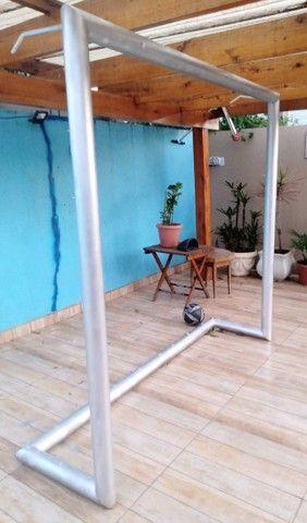 Goleira de futsal - nova sem uso , pode conferir. - Foto 2
