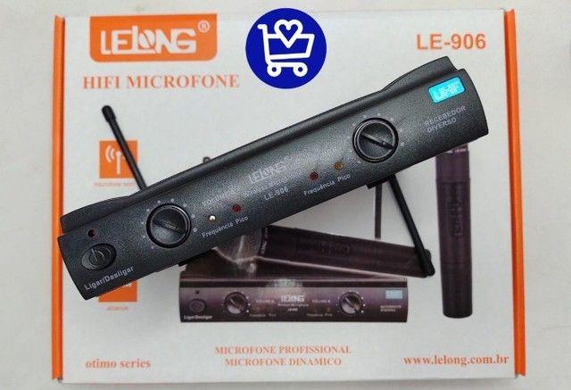 *Microfone profissional dinâmico LE-906*???   - Foto 5