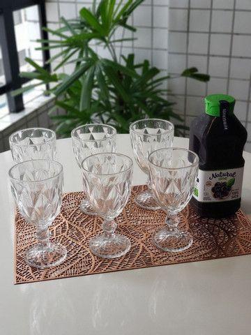 Jogo de Taças de Vidro Tok House 6 unidades Nova na Caixa - Foto 2