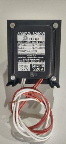 Auto transformador 5000VA 110 220 ou vice-versa  r$ 400 à vista ou em até 12x no cartão - Foto 2