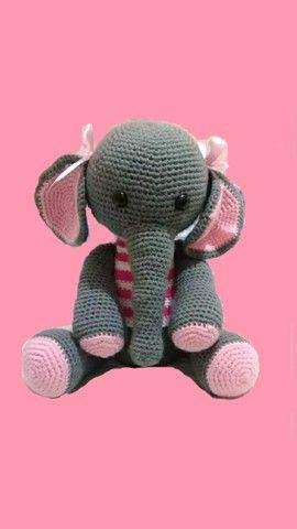 Amigurumi Elefante Mia