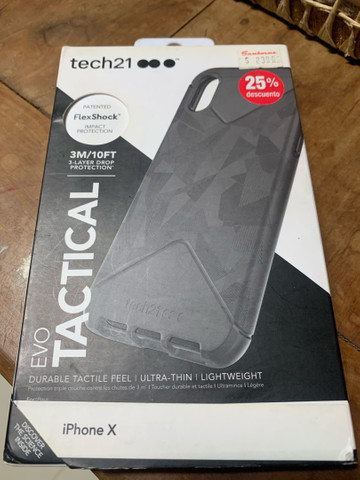 Capa Tech21 FlexShock Anti-Impacto Importada be