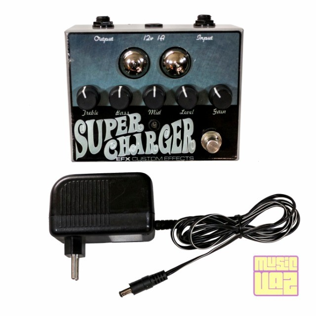 Pedal EFX Custom Effects Supercharger - Foto 2