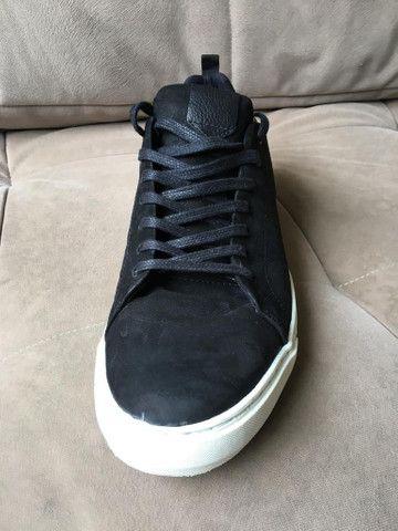 SAPATÊNIS masculino Shoestock PRETO - No 43 - NOVÍSSIMO! - Foto 3