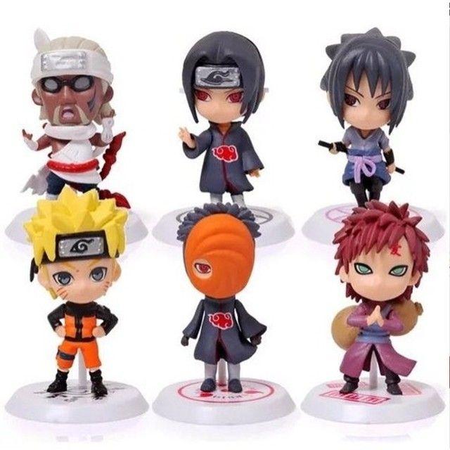Personagens em KIT Anime Naruto Vilões