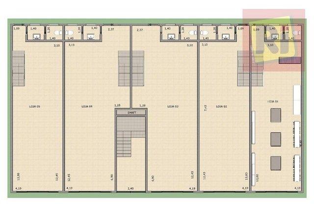 Sala, 58 m² - venda por R$ 249.000,00 ou aluguel por R$ 1.200,00/mês - Jardim Vicente Carv - Foto 2